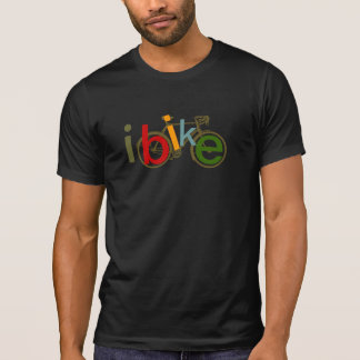 T-shirt style de mode de bicyclette de ~ d'ibike