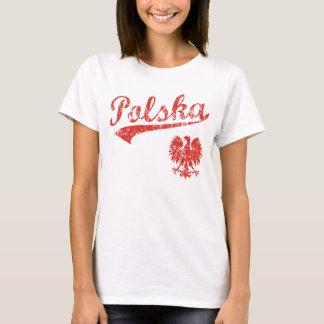 T-shirt Style de sport de Polska Eagle