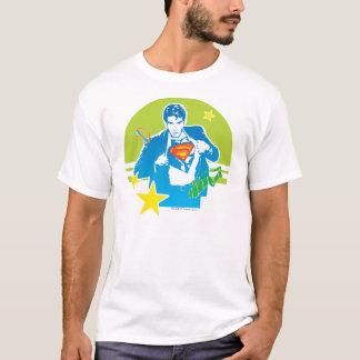 T-shirt Style des années 80 de Superman