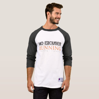 T-shirt Style du base-ball des hommes aucune chemise