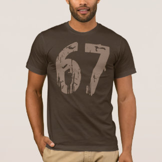 T-shirt Style érodé numéro 67
