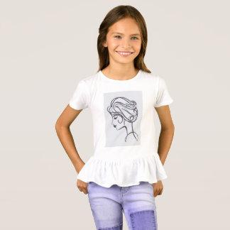 T-shirt Style et crainte avec des boucles d'oreille