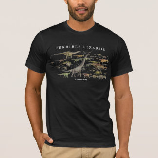 T-shirt Style Gregory Paul de reconstitution historique de