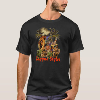 T-shirt Styles de reggae