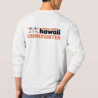 T-shirt Substance volée Hawaï Crimefighter longtemps gainé
