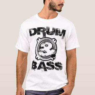 T-shirt Subwoofer de tambour et de basse