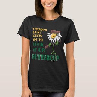 T-shirt Sucez-le, tee - shirt de renoncule