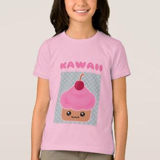 T-shirt Sucrerie de cerise de petit gâteau de Kawaii