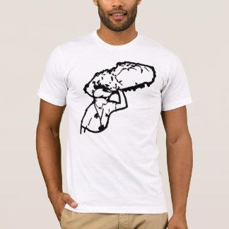 T-shirt Sucrerie de coton ici