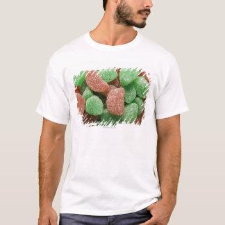T-shirt Sucreries vertes et par rouge sucrées