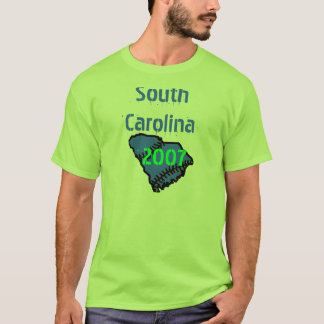 T-shirt sud, la Caroline du Sud, 2007