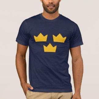 T-shirt suédois d'hockey