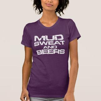 T-shirt Sueur et bières de boue