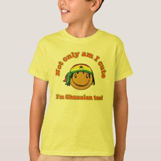 T-shirt Suis non seulement je mignon je suis ghanéen aussi