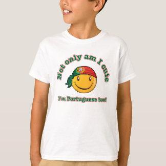 T-shirt Suis non seulement je mignon, je suis portugais
