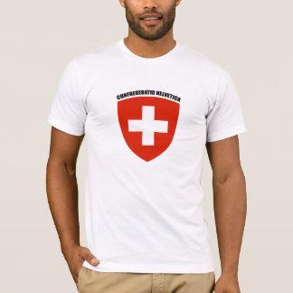 T-shirt Suisse : Confoederatio helvetica