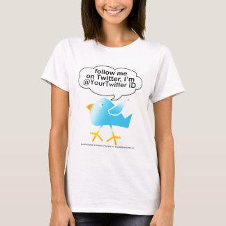 T-shirt Suivez-moi @ la pièce en t légère des femmes