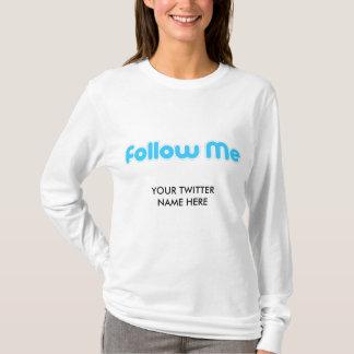 T-shirt suivez-moi (le gazouillement)