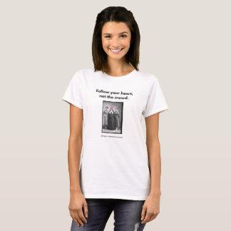 T-shirt Suivez votre coeur….