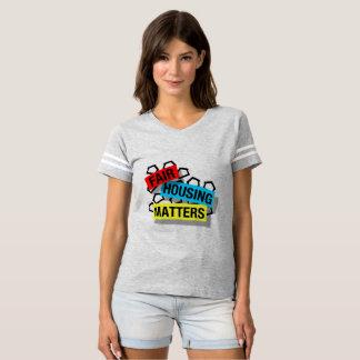 T-shirt Sujets justes de logement - chemise du football
