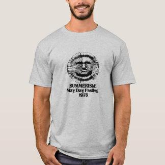 T-shirt Summerisle peut le festival 1973 de jour