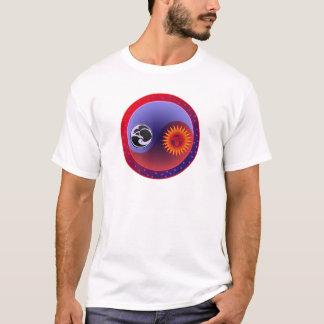 T-shirt Sun et lune dans l'équilibre