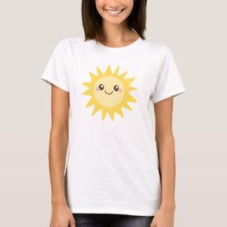 T-shirt Sun heureux mignon