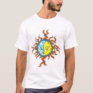 T-shirt Sun/lune