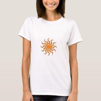 T-shirt Sun orange