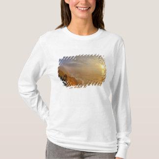 T-shirt Sun place au-dessus de l'océan pacifique de Heceta