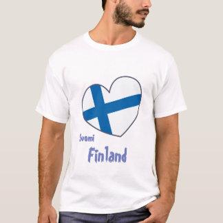 T-shirt Suomi de Finlande women shirt