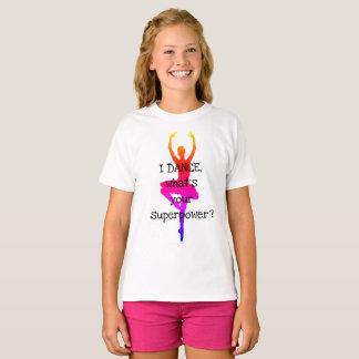 T-shirt superbe de danseur