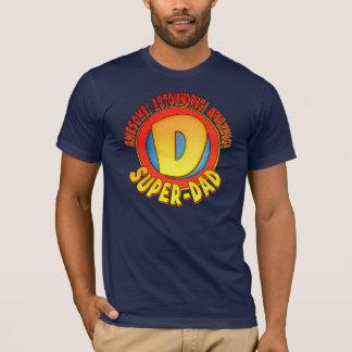 T-shirt superbe de fête des pères de papa