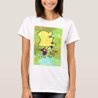 T-shirt superbe d'homme d'arachide