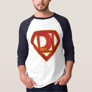 T-shirt SuperDavid - 3/4 douille
