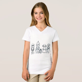 T-shirt Superhéros miniatures de galaxie