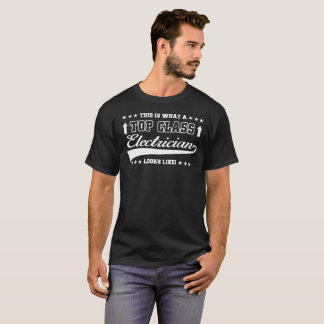 T-shirt supérieur d'électricien de classe