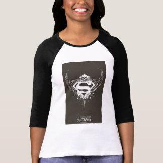 T-shirt Superman a stylisé le logo d'arrière - plan de |