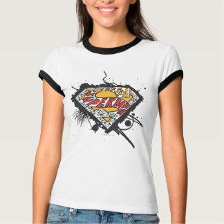 T-shirt Superman a stylisé le logo de | avec le logo de