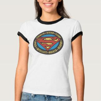 T-shirt Superman a stylisé le logo de vol de vision de