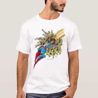 T-shirt Superman arrête un météore