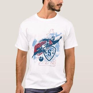 T-shirt Superman et carte