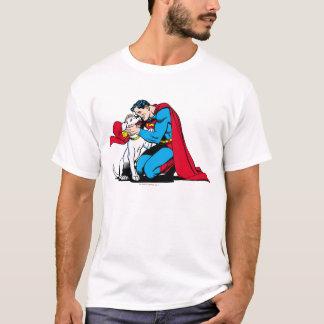 T-shirt Superman et Krypto