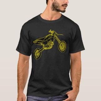 T-shirt Supermoto jaune