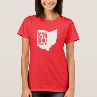 T-shirt Support avec la pièce en t des Femme-Femmes de