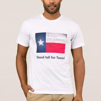 T-shirt Support grand pour le Texas !