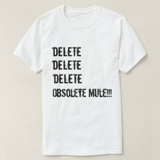 T-shirt Suppression de suppression de suppression !