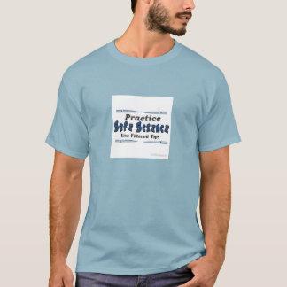 T-shirt sûr de la Science de pratique