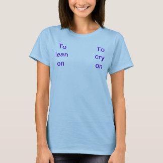 T-shirt Sur de maigre/cri dessus