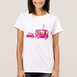 T-shirt Sur la camisole d'autobus